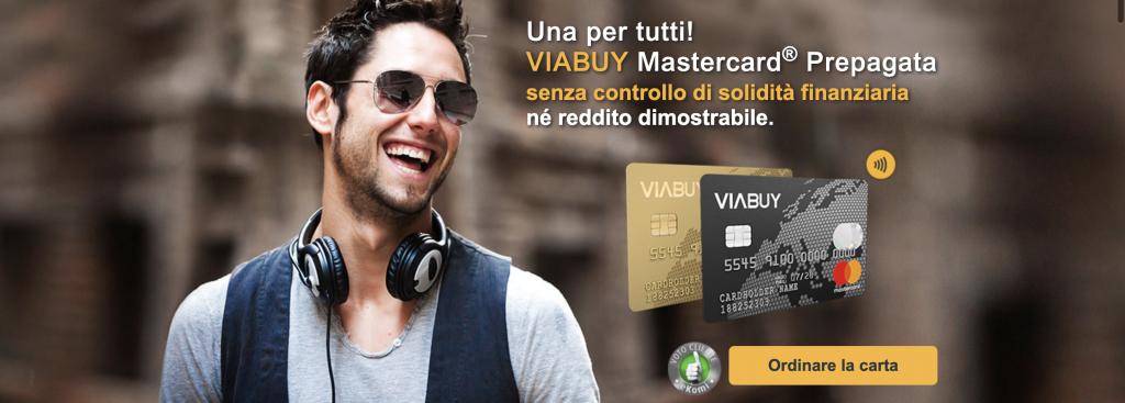 Anteprima del sito Viabuy | Viabuy carta prepagata