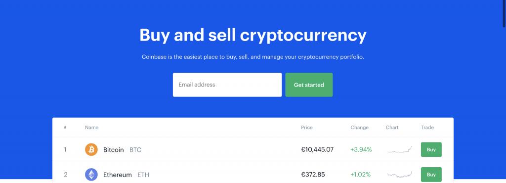 Anteprima del sito Coinbase | Coinbase recensione