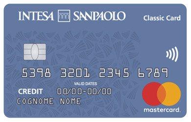 Carta di credito Intesa Sanpaolo Classic Card
