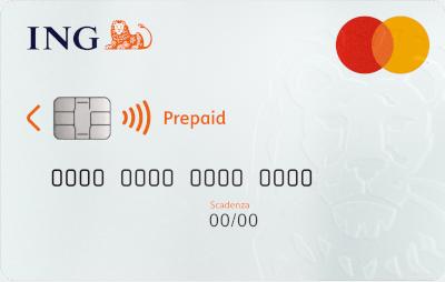 Carta Prepagata Mastercard ING Direct