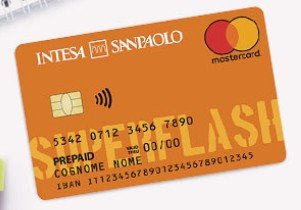 Carta Superflash Intesa Sanpaolo